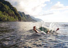 Mit vollem Magen schwimmen zu gehen sollte man vermeiden