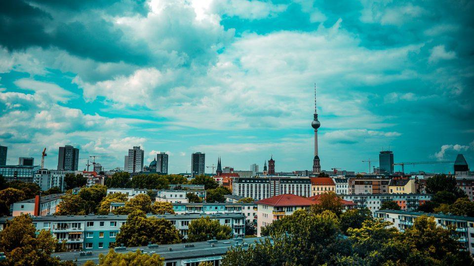 Ausschnitt der Skyline von Berlin