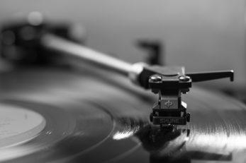 Die Musik von Billy Childish auf einer Schallplatte