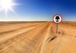 Die Area 51 befindet sich mitten in der Wüste Nevadas