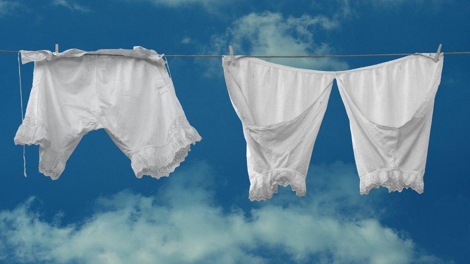 So sah Unterwäsche einst aus