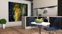 Viele Küchenplaner können 3D-Ansichten wie diese generieren