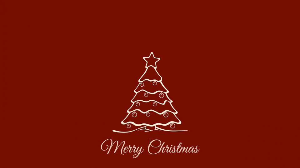 Wer eine Weihnachtskarte basteln möchte, kann viele Materialen dafür verwenden.