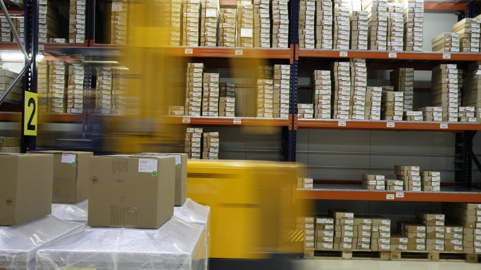 Hinter einem schnellen Buchversand stehen ausgeklügelte Logistiklösungen