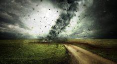 Tornados ziehen alles was ihnen in den Weg kommt mit sich