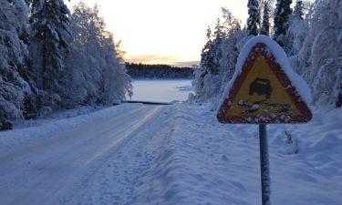 Bleiben eingeschneite Verkehrsschilder eigentlich gültig?