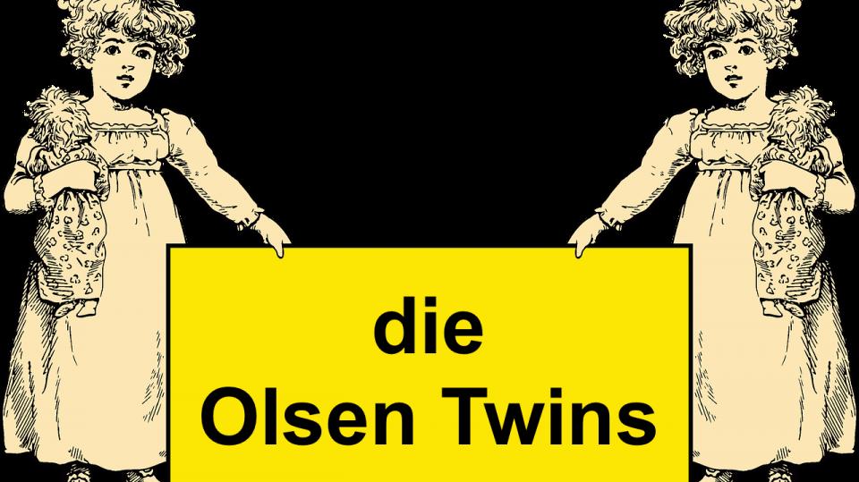Illustration der Olsen Twins