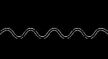 Sinuswelle eines digitalen Signals
