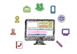 Visualisierung einer Social Media Strategie