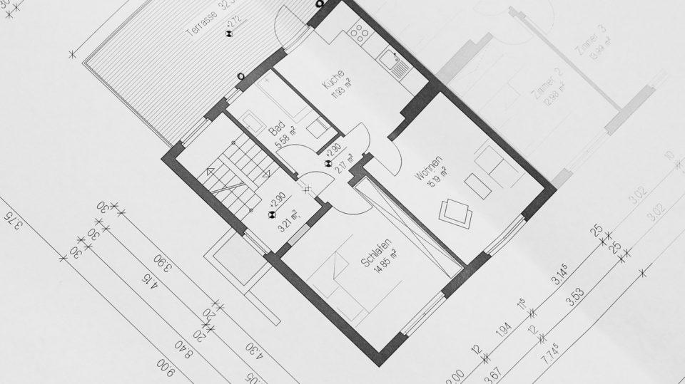 Hausplanung in Theorie und Praxis: der Grundriss