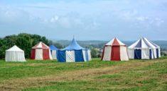 Erfindung der Zelte