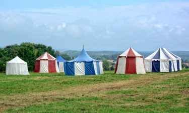 Seit wann gibt es Zelte?